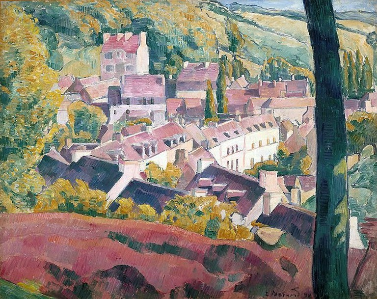 Émile_Bernard_Pont-Aven_Seen_from_the_Bois_d'Amour