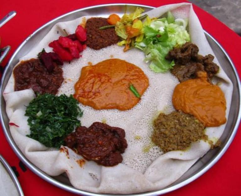 Ethiopian dish
