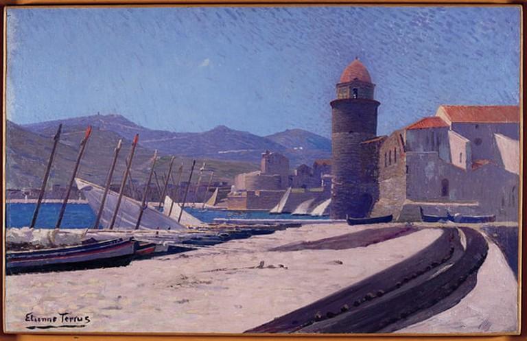 Etienne_Terrus_-_Le_port_de_Collioure_1890_1900
