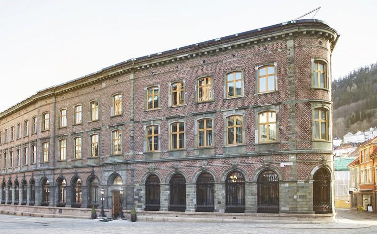 The exterior of Opus XVI hotel in Bergen