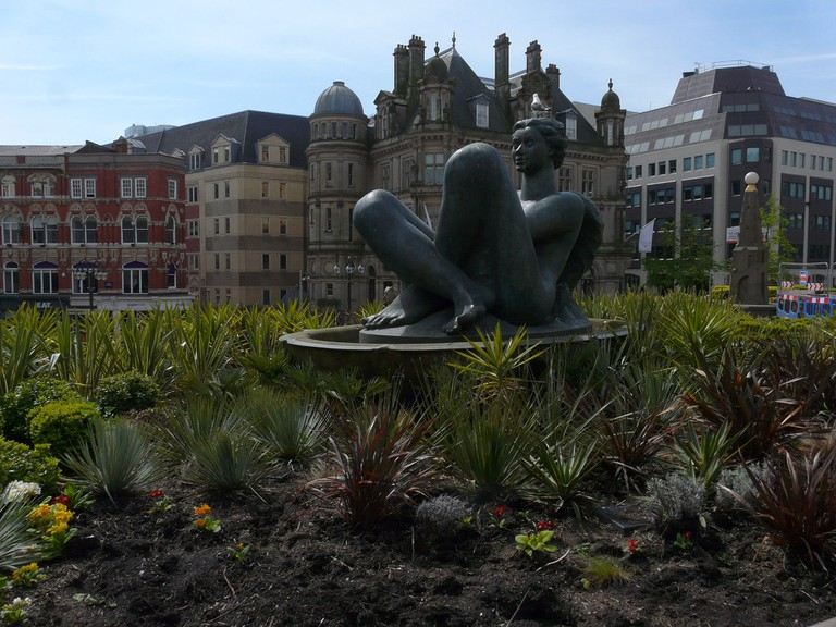 Floozie in the... garden - Victoria Square
