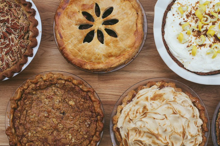 Homemade pie and seasonal flavors can be found at Emporium Pies