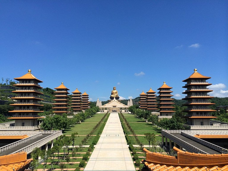 Full view of Fo Guang Shan Memorial Center
