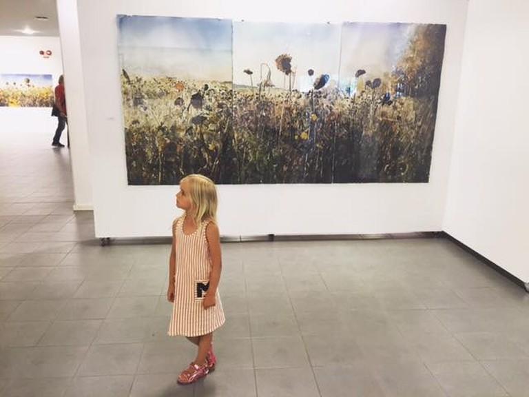 Gallery Sandgrund Lars Lerin, Karlstad