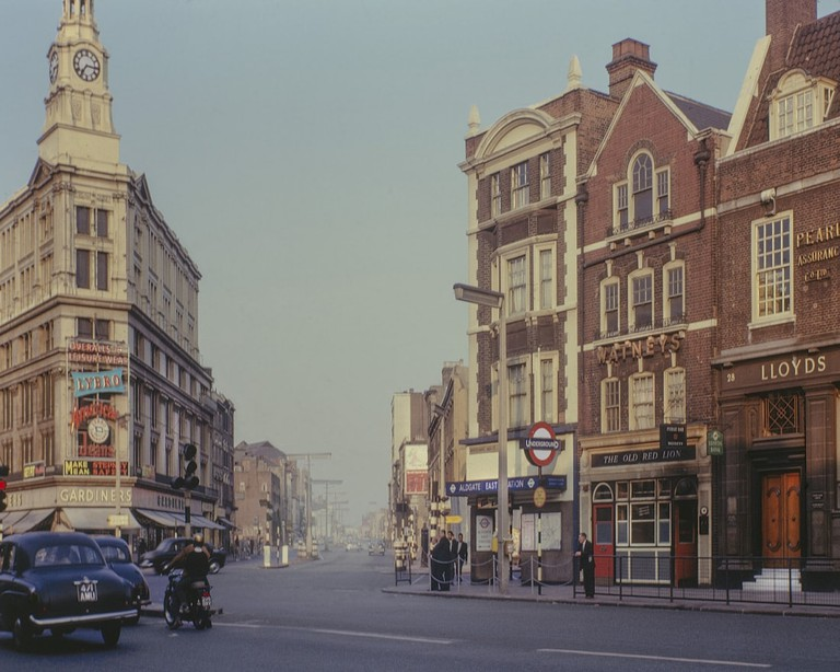Gardiner's Corner, 1963