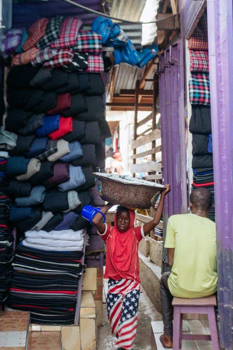 Kumasi Central Market-Kumasi-Ghana