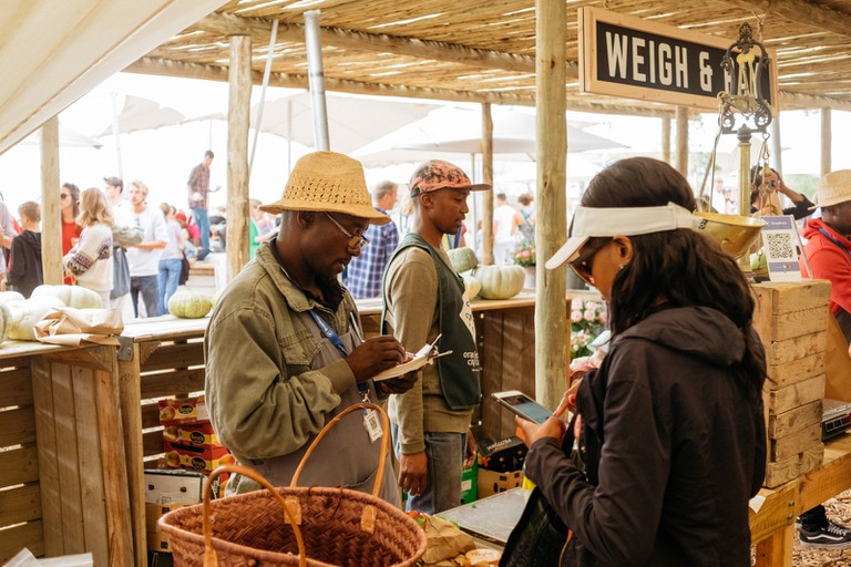 Oranjezicht City Farmers Market, Cape Town, South Africa