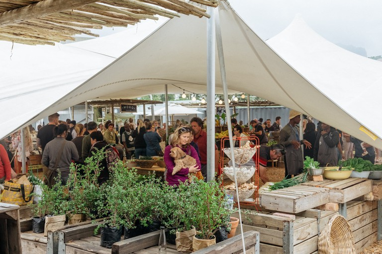 Oranjezicht City Farmers Market, Cape Town, South Africa