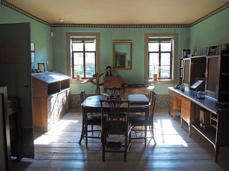 Goethe_Arbeitszimmer@Weimar_Goethe_Wohnhhaus