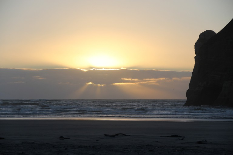 Stunning Golden Bay, where Tasman became the first European to land on NZ