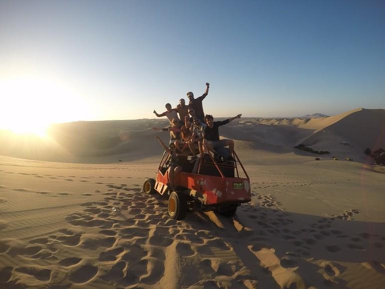 Optional dune buggy tour near Huacachina