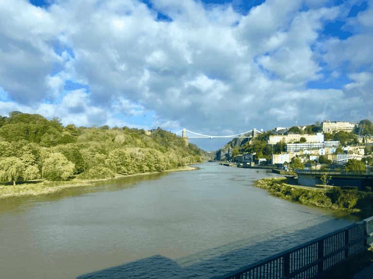 The Avon Gorge was supposedly created by the giant Vincent to win over the beautiful Avona