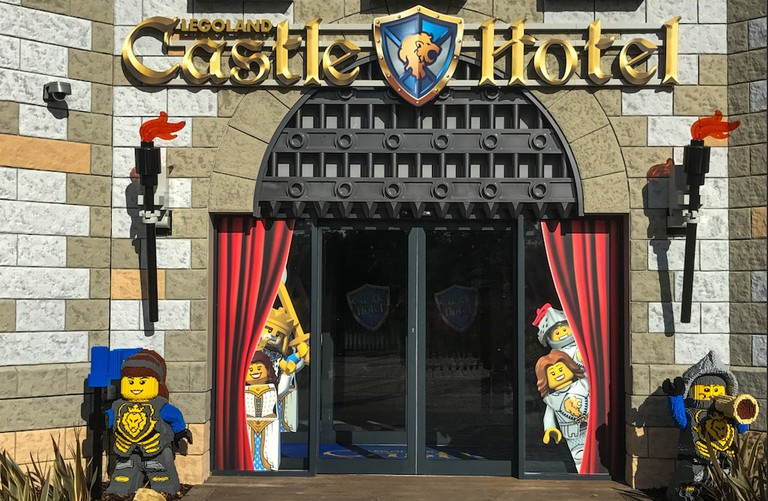 The Castle Hotel's Grand Hall entrance.