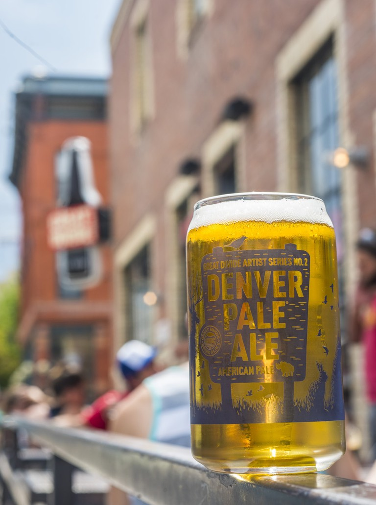 Great Divide Brewing Company offers a popular Denver Pale Ale.