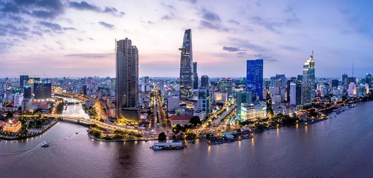 Ho Chi Minh City, the economic hub of Vietnam
