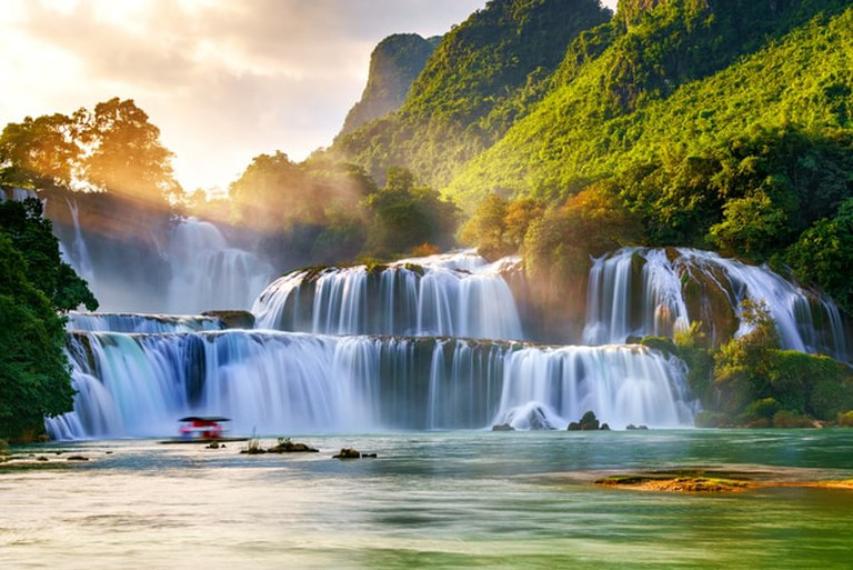Ban Gioc waterfall, Cao Bang, Vietnam