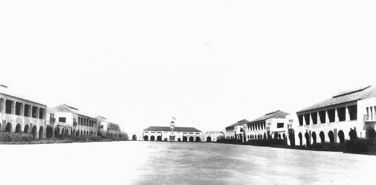The Quad at the Naval Training Center c1935.