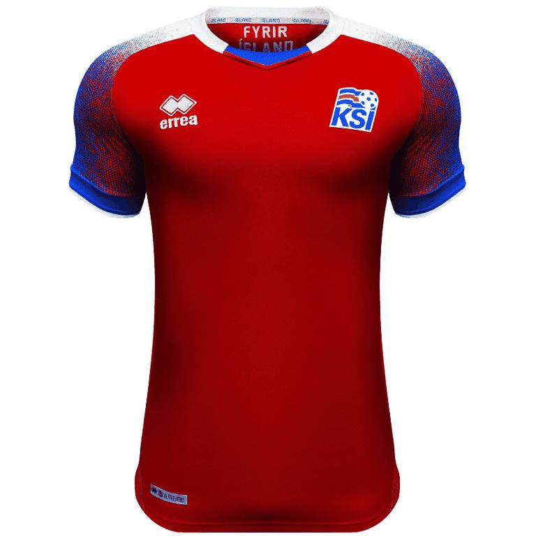 Iceland 2018 goalkeeper shirt