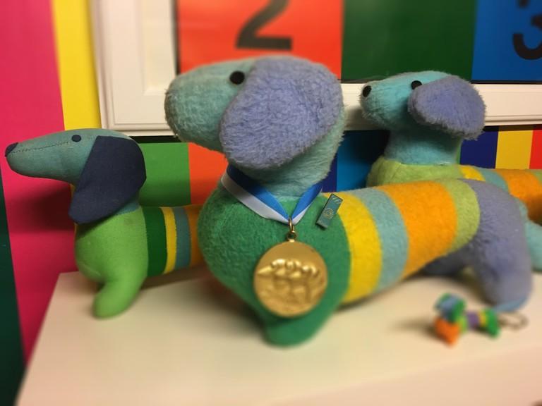 Waldi, the Olympic mascot