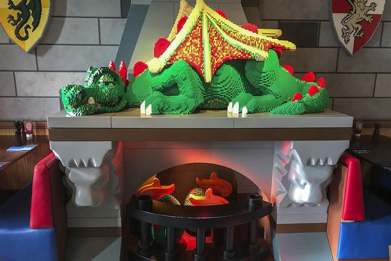 The Dragon's Den restaurant.