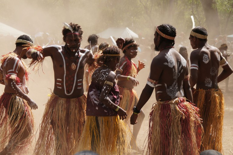 Indigenous Australian ceremony © Malcolm Williams / Flickr