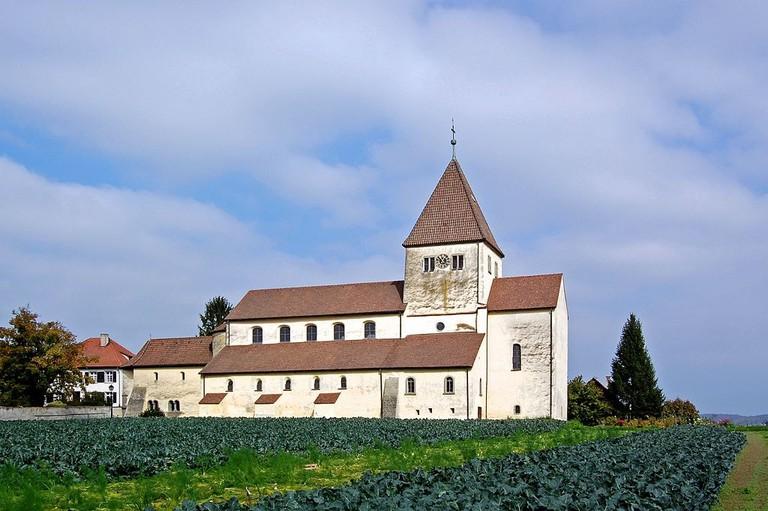 Insel_Reichenau_-_Stiftskirche_St_Georg_in_Oberzell_(10490933155)