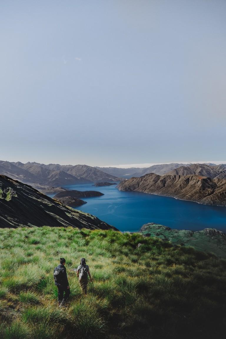 Hiking Roy's Peak