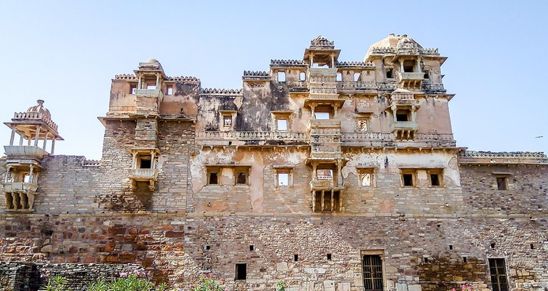 Jauhar Kund of Chittorgarh Fort from the outside