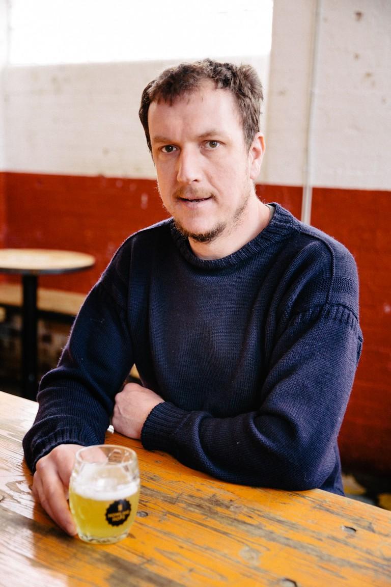 Pete Holt, founder-director of Howling Hops, London, UK