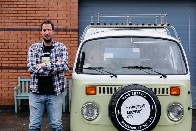 Campervan Brewery-Edinburgh-Scotland