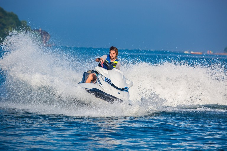 Enjoy the watersports on offer along the beaches of Asia