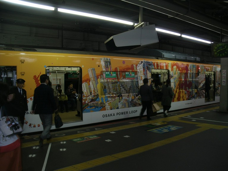 JNR203_Osaka_Power_Loop_Japan
