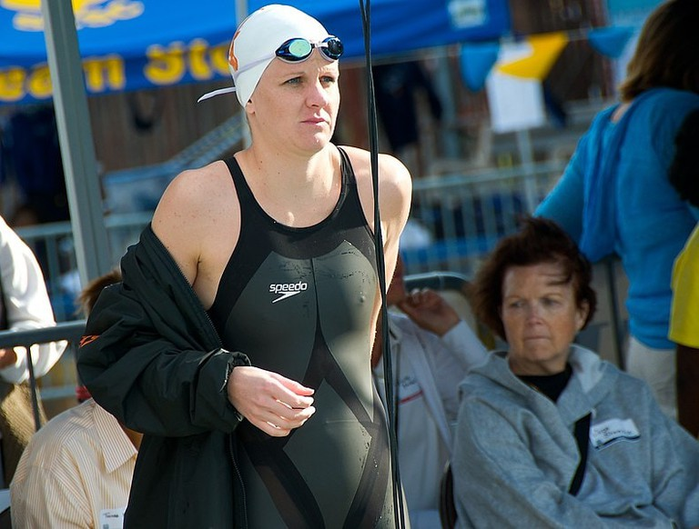 Zimbabwean swimmer Kirsty Coventry