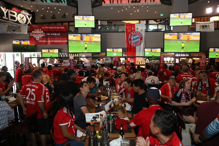 FC Bayern Munich's official fan club in Los Angeles