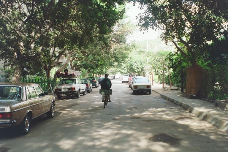 Maadi area, Cairo