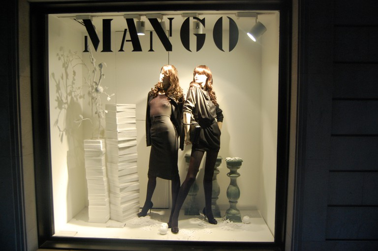 Mango is one of Spain's most popular clothing brands