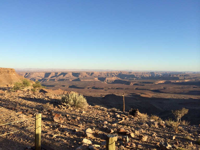 The Fish River Canyon in the Kharas region
