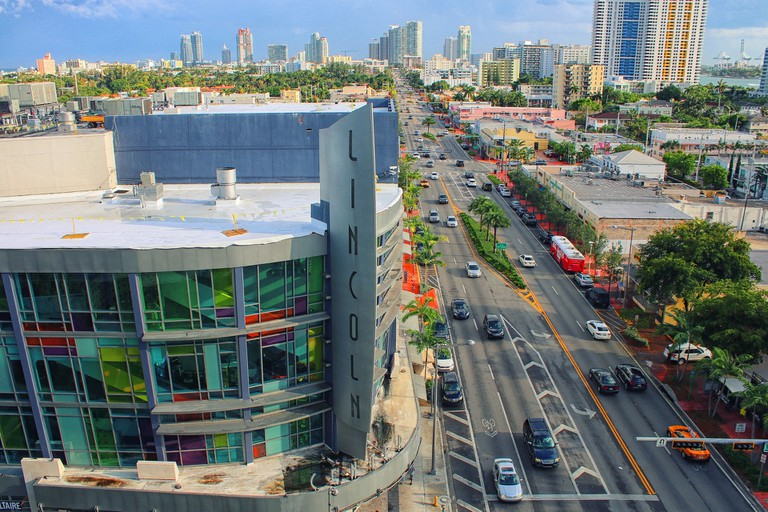 Lincon Road in South Beach