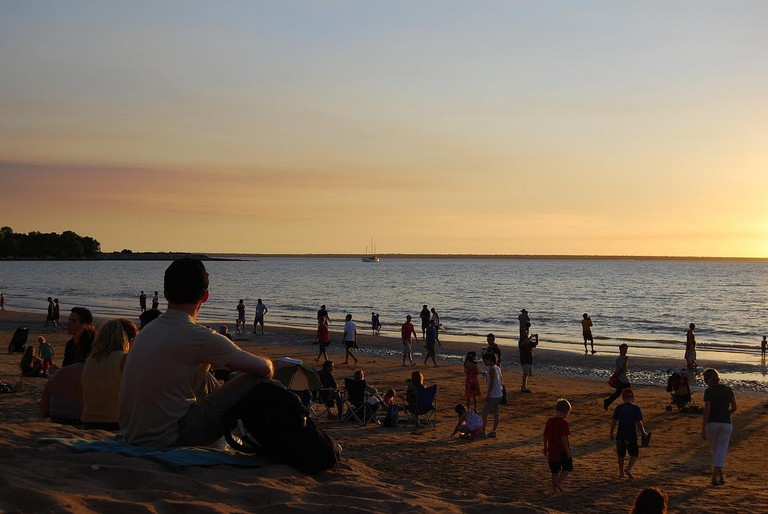 Mindil Beach in Darwin © Kimble Young / Flickr