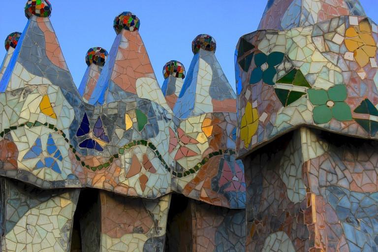 Trencadís mosaic
