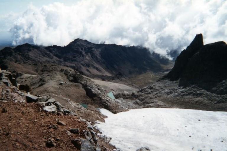 Mt Kenya Glacier