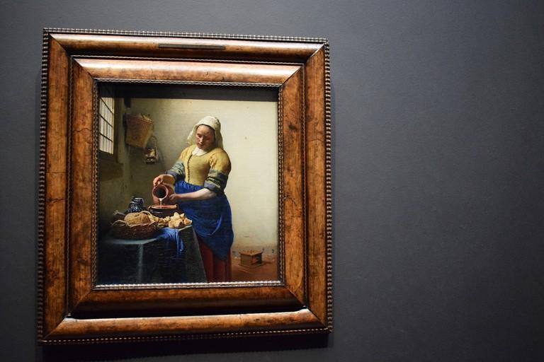 Johannes Vermeer's the Milkmaid (1657-1658)