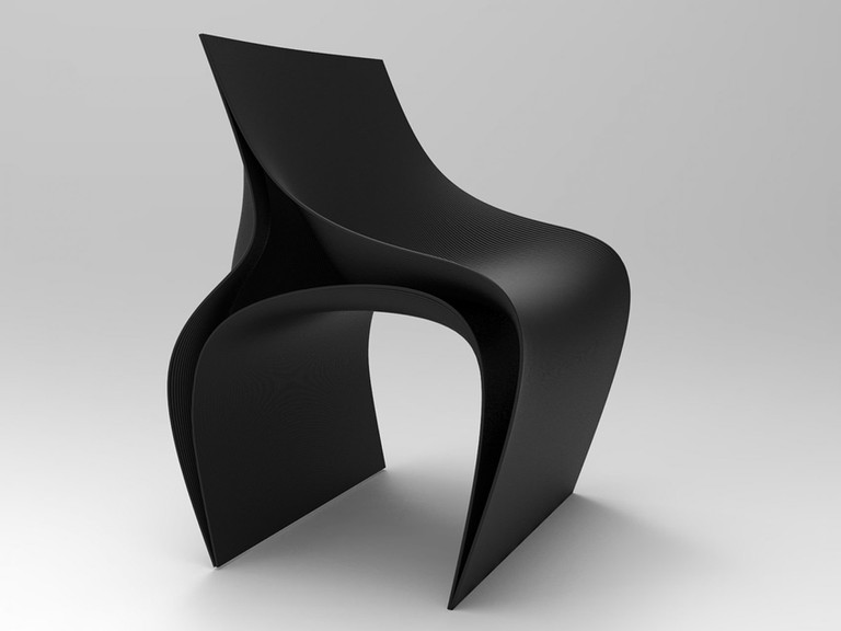 3D-printed chair