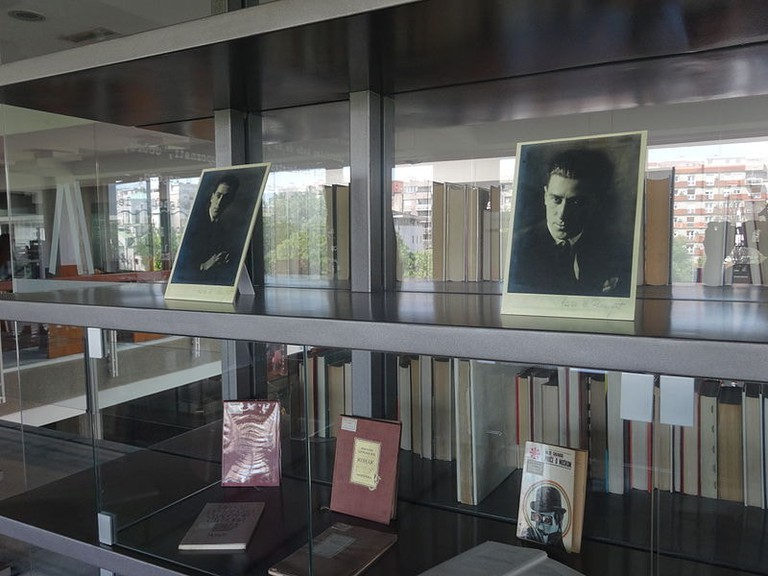 Part of the Miloš Crnjanski collection at the National Library of Serbia