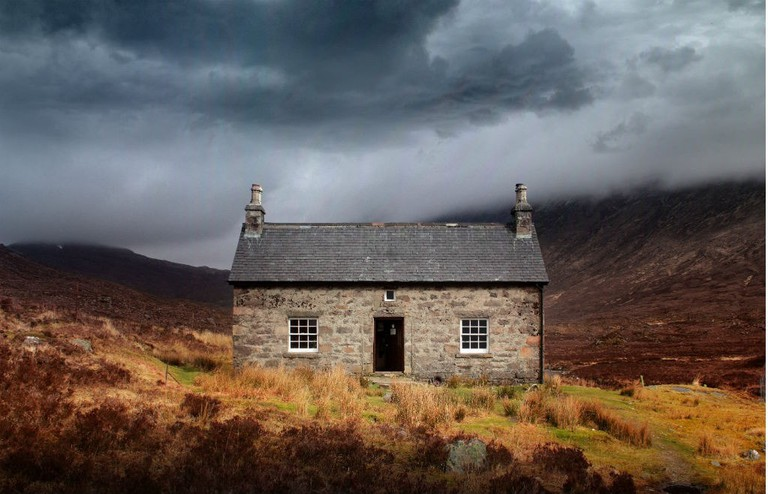 The Scottish Bothy Bible Book Cover By Geoff Allan
