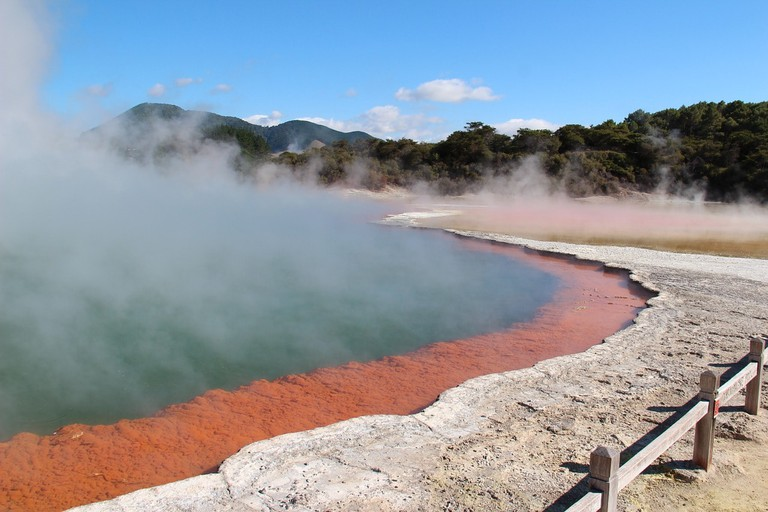 Champagne pools, Wai-O-Tapu Geothermal Wonderland