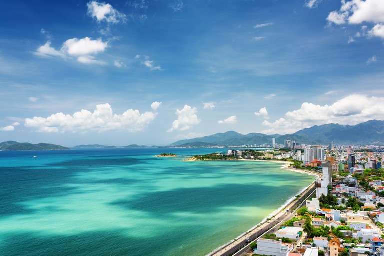 Nha Trang's sprawling bay