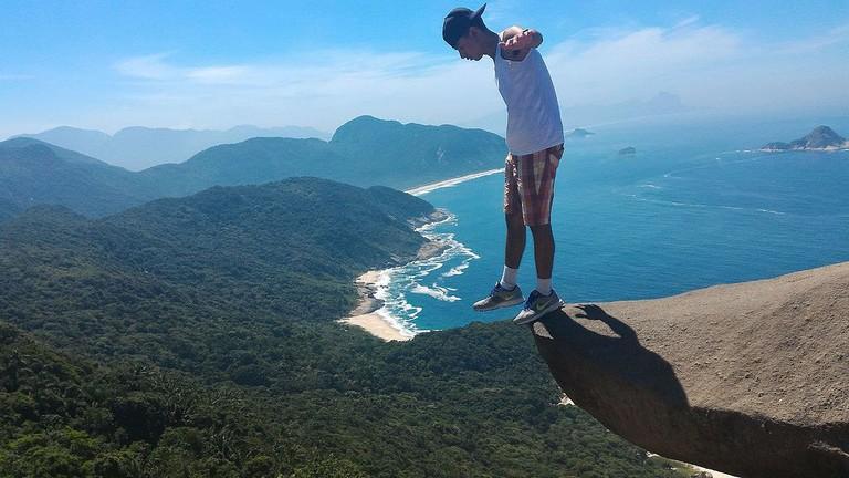 Pedra Telegrafo Rio de Janeiro