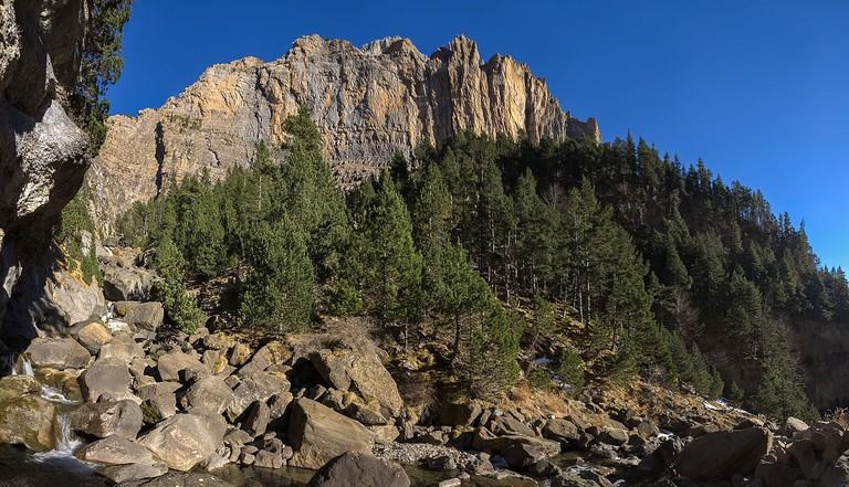 Parque Nacional de Ordesa y Monte Perdido, Huesca, Spain