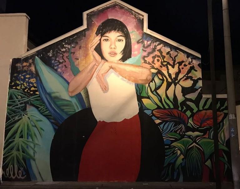 Penang street art Elle